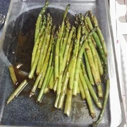 Tasty Barbecued Asparagus Recipe - These grilled asparagus are marinated and brushed with sesame oil and soy sauce for the perfect addition to any meal.