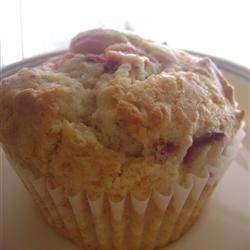 Strawberry Vanilla Muffins