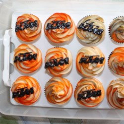 KTM Motorcycle Cupcakes