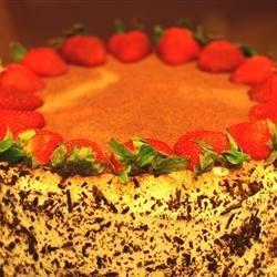 cake was delicious !