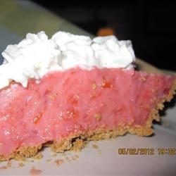 Rhubarb Rumble Pie or Bars Recipe - Use your microwave to cook fresh rhubarb with strawberry gelatin, then combine with instant vanilla pudding mix for a creamy, fruity pie filling that's perfect with a graham cracker crust as an easy dessert.