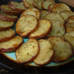 Chef John's Cottage Fries Recipe - These easy cottage fries crisp up quite nicely in the oven and resemble fat, succulent potato chips.