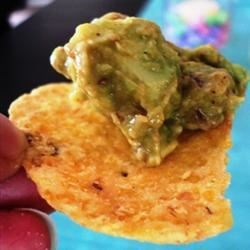 Fabulous and Easy Guacamole Recipe - An easy and flexible guacamole recipe that gets raves! Adjust the garlic and taco sauce to taste.