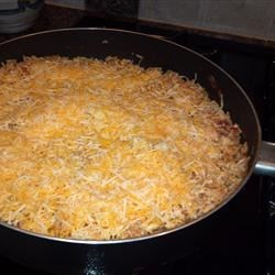 Salsafied Chicken and Rice cheese just added