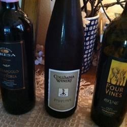 the competing wines