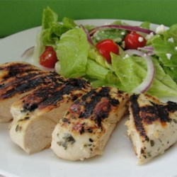 Spicy Grilled Chicken Recipe - This is a slightly hot lime juice based marinade that adds wonderful flavors to grilled chicken. The breasts marinate in the fridge for about an hour and are grilled until moist and crispy brown.