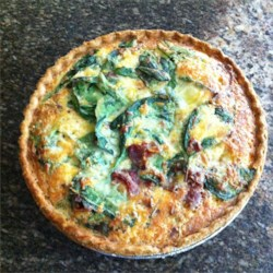 Easy Quiche Recipe and Video - This is an easy mix-it-up-in-one-bowl-and-cook recipe. I make it for every brunch I attend. You may substitute chopped spinach for the broccoli if you wish.