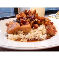 West Indian Chicken Recipe - A delicious sweet and sour style recipe that is best served over rice.  Very easy to make.