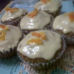 Fluffy Carrot Muffins with Cream Cheese Frosting Photos ...