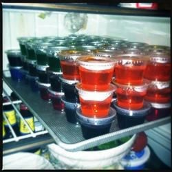 Gourmet Jell-O Shots: Berry Berry Good