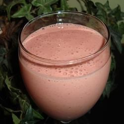 Chocolate Strawberry Smoothie Recipe - This strawberry, banana chocolate yogurt shake makes a wonderful treat for any occasion.