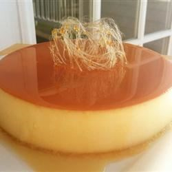 Baked Flan Recipe and Video - This is a quick and easy baked flan recipe that is prepared in the blender. It's great served warm or cold and has a creamy texture like custard.