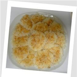 Palitaw (Sweet Rice Cakes) Recipe - This sticky, chewy dessert with sesame seeds and coconut is very easy to make and can also be served as a snack.