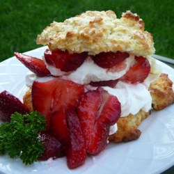 Buttermilk Strawberry Shortcake ~ Recipe Group Selection:  19, May '12