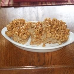 No Bake Cereal Cookies Recipe - This is a no-bake cookie or bar with a good peanut butter taste.