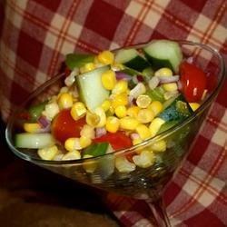 Cherry Tomato Corn Salad