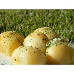 Lengenberg's Boiled Potatoes Recipe - These simple boiled potatoes with parsley are the perfect complement to bratwurst with mustard. Master Butcher Uli also serves Lengenberg's Boiled Potatoes with his Onion Bacon Sauce and Apple Red Cabbage.