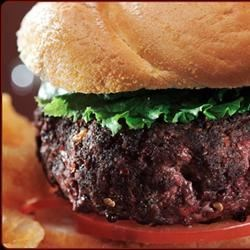 Chris' Best Burgers Recipe - Ground beef, lamb, onion, and a few simple seasonings combine for big burgers that don't taste like meatloaf. There are some secret tricks for extra-juicy burgers in this recipe.