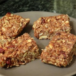 Gluten-Free Granola Bars Recipe - This recipe yields a chewy granola bar versatile enough to be adapted to your personal tastes or dietary need.