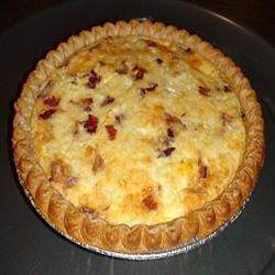 All recipes easy bacon cheese quiche