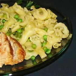 Pasta with Sweet Peas