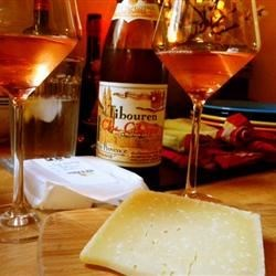 Tibouren rose from Provence w/manchego.