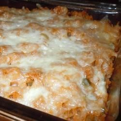 My Favorite Mexican Rice Recipe - This one-skillet side dish is wonderfully spicy and cheesy. Serve it with your favorite Mexican dish.