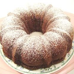 Boscobel Beach Ginger Cake Recipe - A Jamaican cake loaded with fresh ginger and baked in a 9 inch Bundt pan.