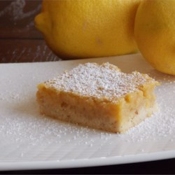 Perfect Lemon Squares Recipe - Almonds and coconut make these lemon bars just about perfect.