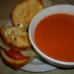 Cream of Tomato Soup Recipe - Old fashioned easy to make creamy tomato soup that will warm your heart.