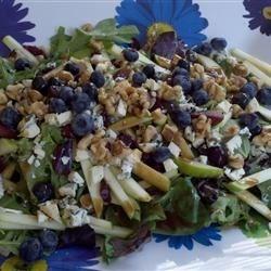 Blueberry, Apple, Walnut Summer Salad!