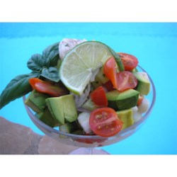 Skeeter's Ceviche Recipe - This shrimp and scallop ceviche is a wonderful seafood salad marinated in lime juice.
