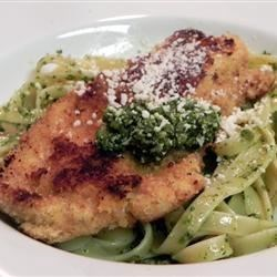 Chicken Milanese Recipe - Lightly breaded and pan-fried chicken breasts make a quick and easy main dish any night of the week.
