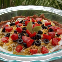 Albuquerque Delight Recipe - Enjoy this Southwestern dip with your favorite tortilla chips!