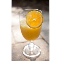 Citrus Slush Recipe - Orange and lime are blended with ice in this refreshing summer drink.