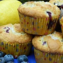 Chef John's Blueberry Muffins Recipe - A perfect blueberry muffin made with sour cream and extra blueberries. Great served slightly warm.