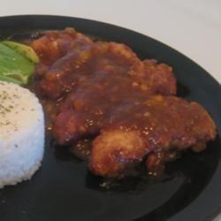 Mango Chicken Piccata