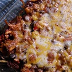 DASH Diet Mexican Bake Recipe - Mexican flavors will make this chicken casserole a family favorite.