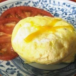 Omelet in a Mug Recipe - A quick and easy breakfast when you don't have time to cook or do dishes afterwards.