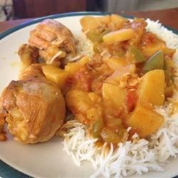 Jenny's Cuban-Style Slow-Cooker Chicken Fricassee