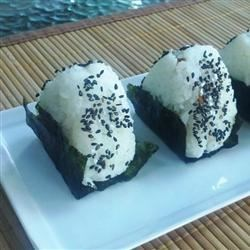Onigiri - Japanese Rice Balls Recipe - Onigiri are Japanese rice balls. They're fun to make and are a staple of Japanese lunchboxes (bento).
