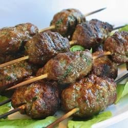 Kofta Kebabs Recipe - These lamb kebabs have 6 different kinds of spices; the first time I smelled them I knew immediately that I had to find the recipe.  The most affordable way to purchase the spices is in bulk at either a health food store or an Asian or Middle-Eastern market.  They are very good!