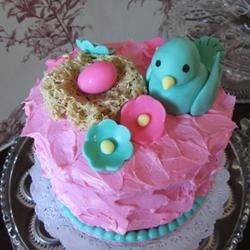 Just Hatched Baby Shower Cake
