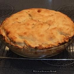 To-Die-For Chicken Pot Pie Recipe - Using premade pie crust, gravy mix, and a store-bought rotisserie chicken cuts a lot of steps from this comforting chicken pot pie. This recipe is crammed with vegetables and chicken and makes a lot of filling, maybe even enough for 2 pies or several smaller pies.