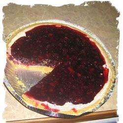 Blueberry Jello Pie
