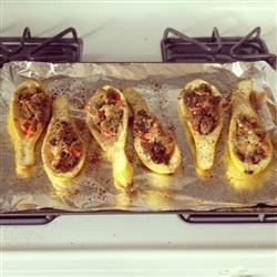 Chef John's Stuffed Summer Squash