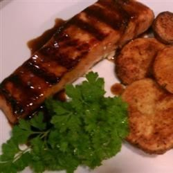 Lindy's Grilled (or Baked) Maple/Sesame Salmon
