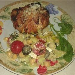 Stuffed Tomato Basil Chiken