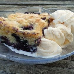 Yummy Blueberry Cobbler Recipe - Easy delicious cobbler made with blueberries. Serve with vanilla ice cream for a terrific summer dessert.