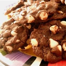 Cake Mix Cookies III Recipe - These cookies are made quickly with only 5 ingredients.  You can also create your own version with different flavored cake mixes and baking chips.